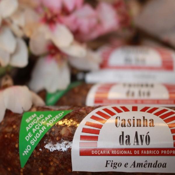 Rolo de Figo e Amêndoa, Sem Adição de açúcar