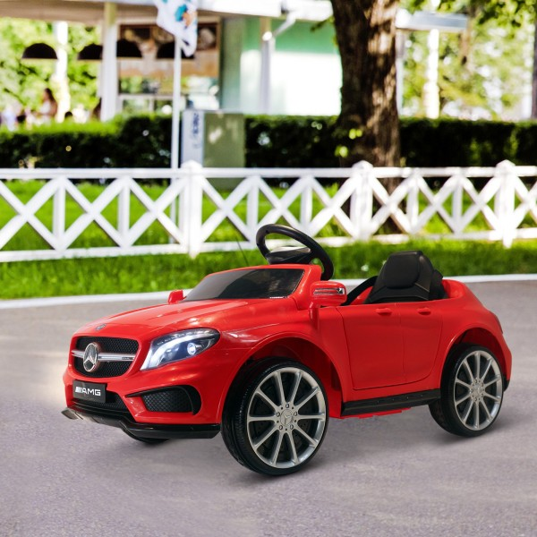 Mercedes Benz GLA (6V) a bateria com comando vermelho